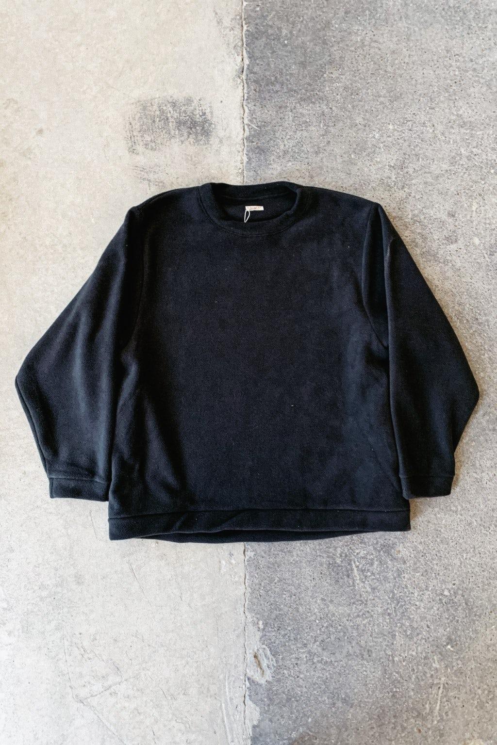 Kapital Reverse Fleece BIG SWT Black