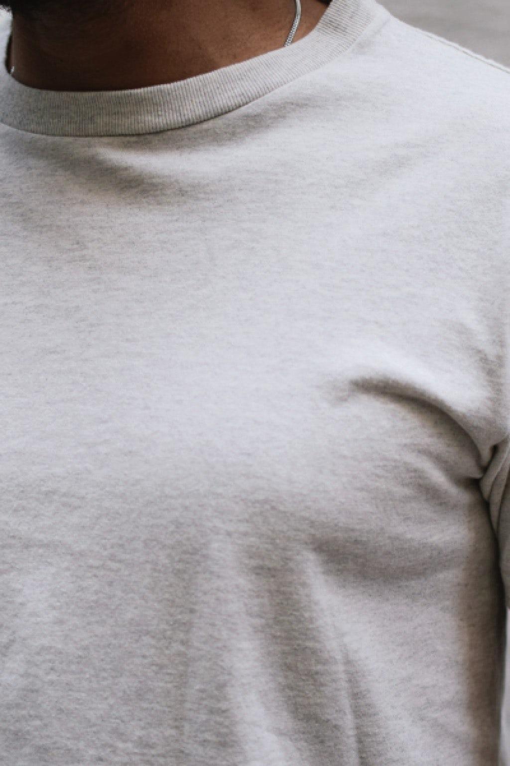Velva Sheen Two Pack T-Shirts Oatmeal