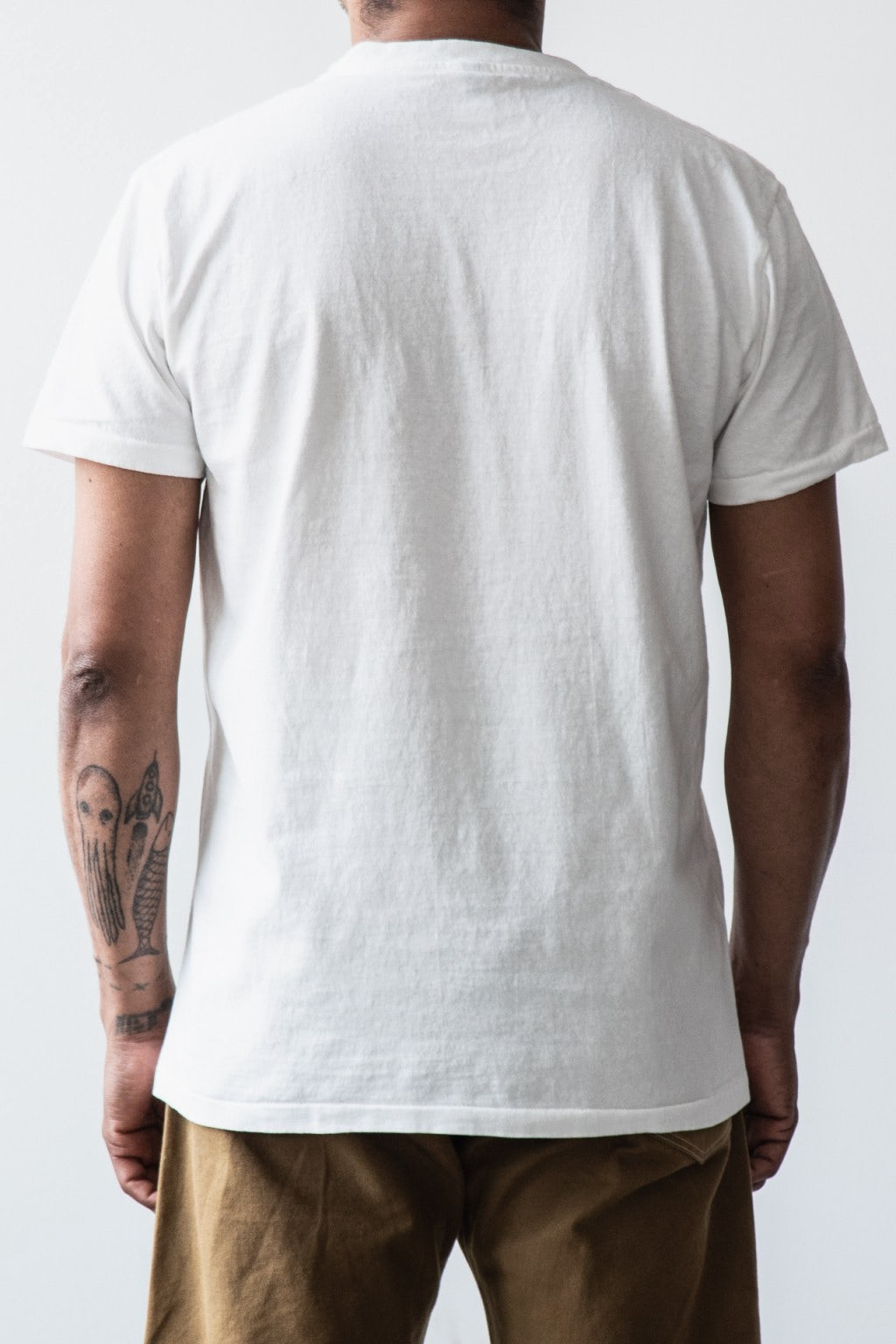 Velva Sheen Two Pack Pocket T-Shirts White