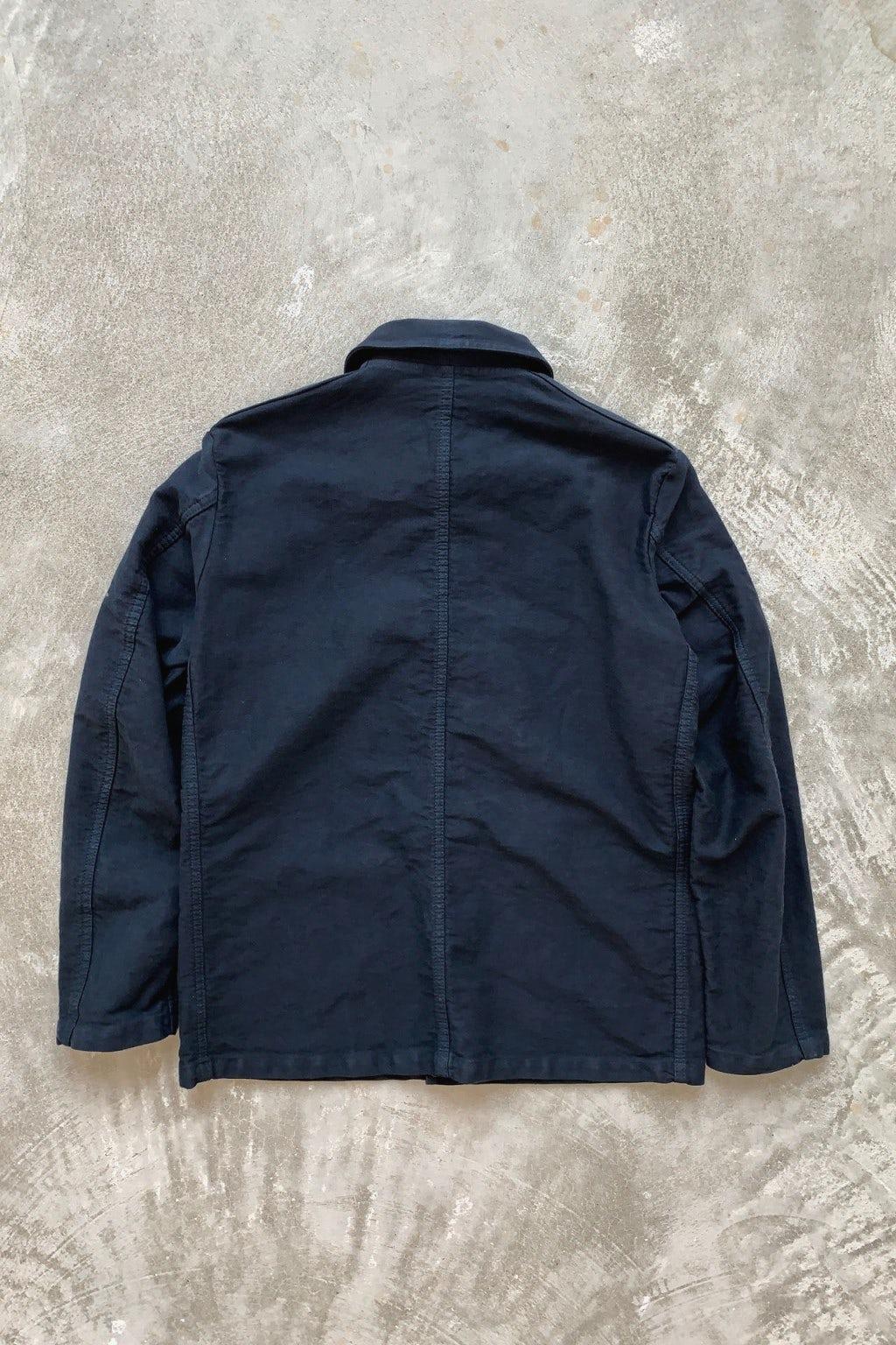 Vetra Chore Coat Navy Moleskin
