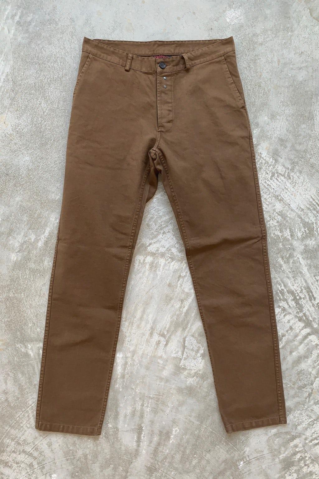 Vetra Trouser Camel Twill