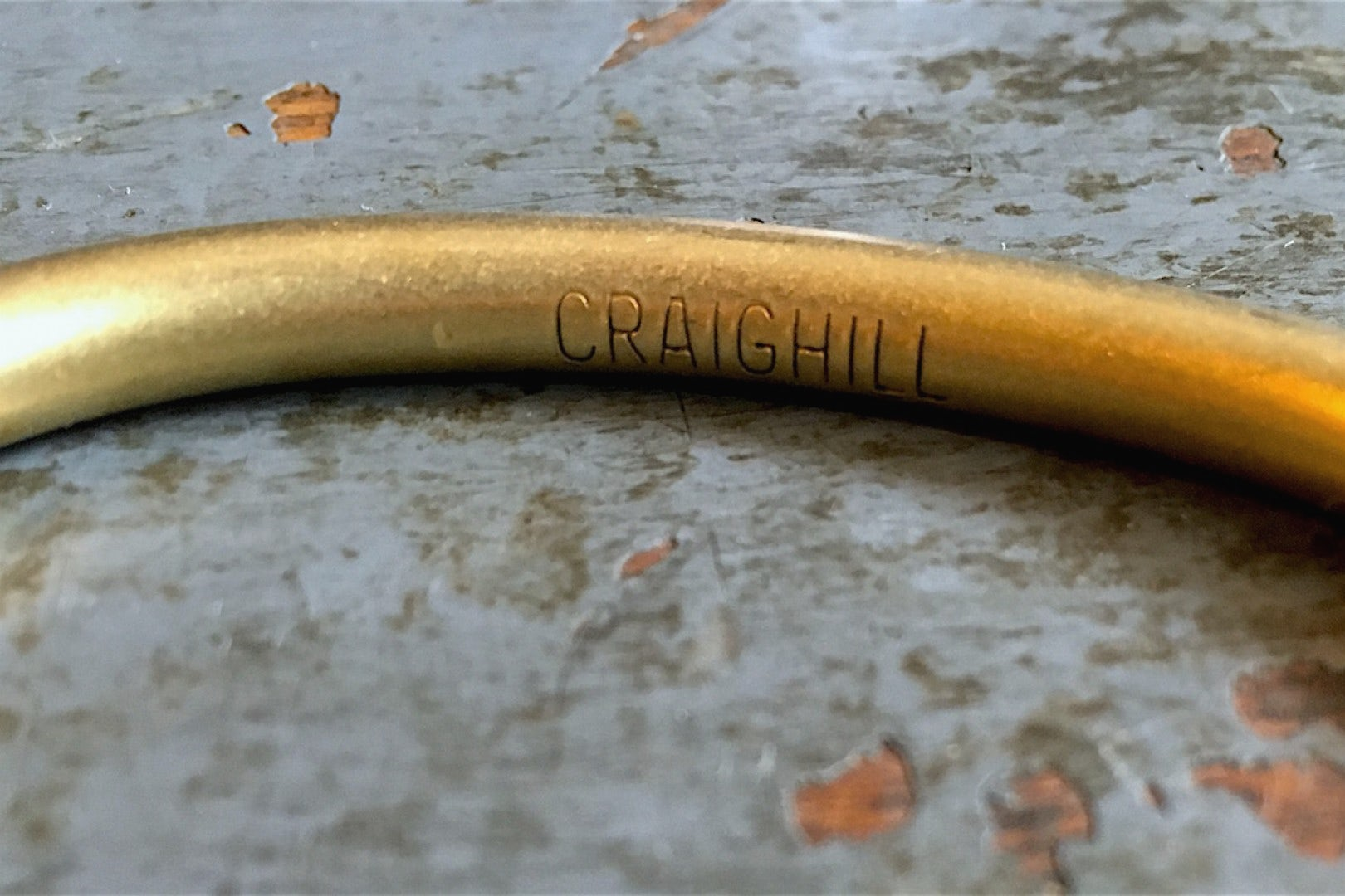 Craighill Uniform Round Cuff Brass