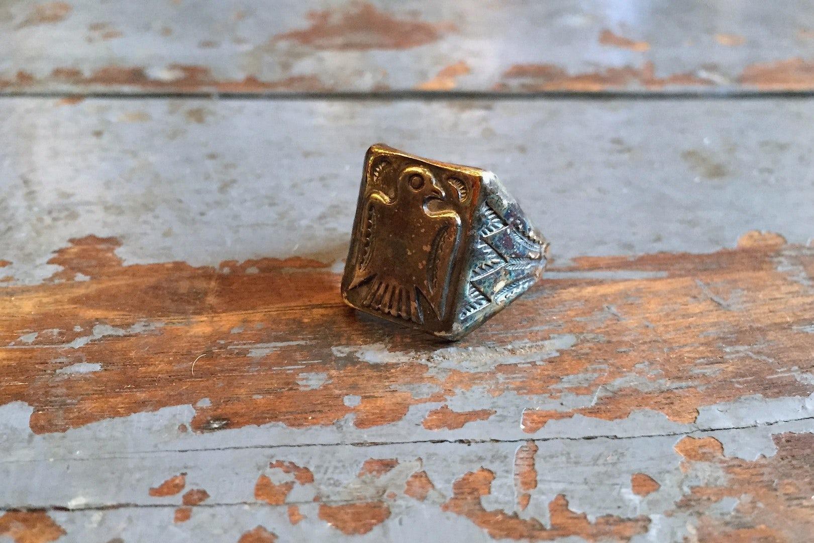 Independence Vintage Goods Eagle Ring Sterling Silver