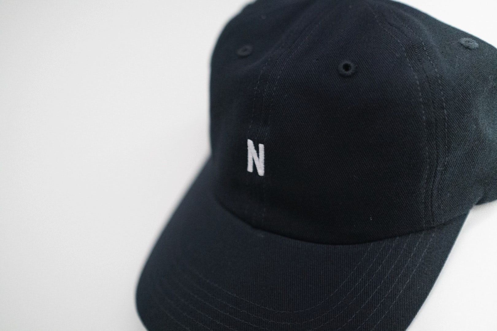 Norse Projects NP SS19 Twill Sports Cap Dark Navy