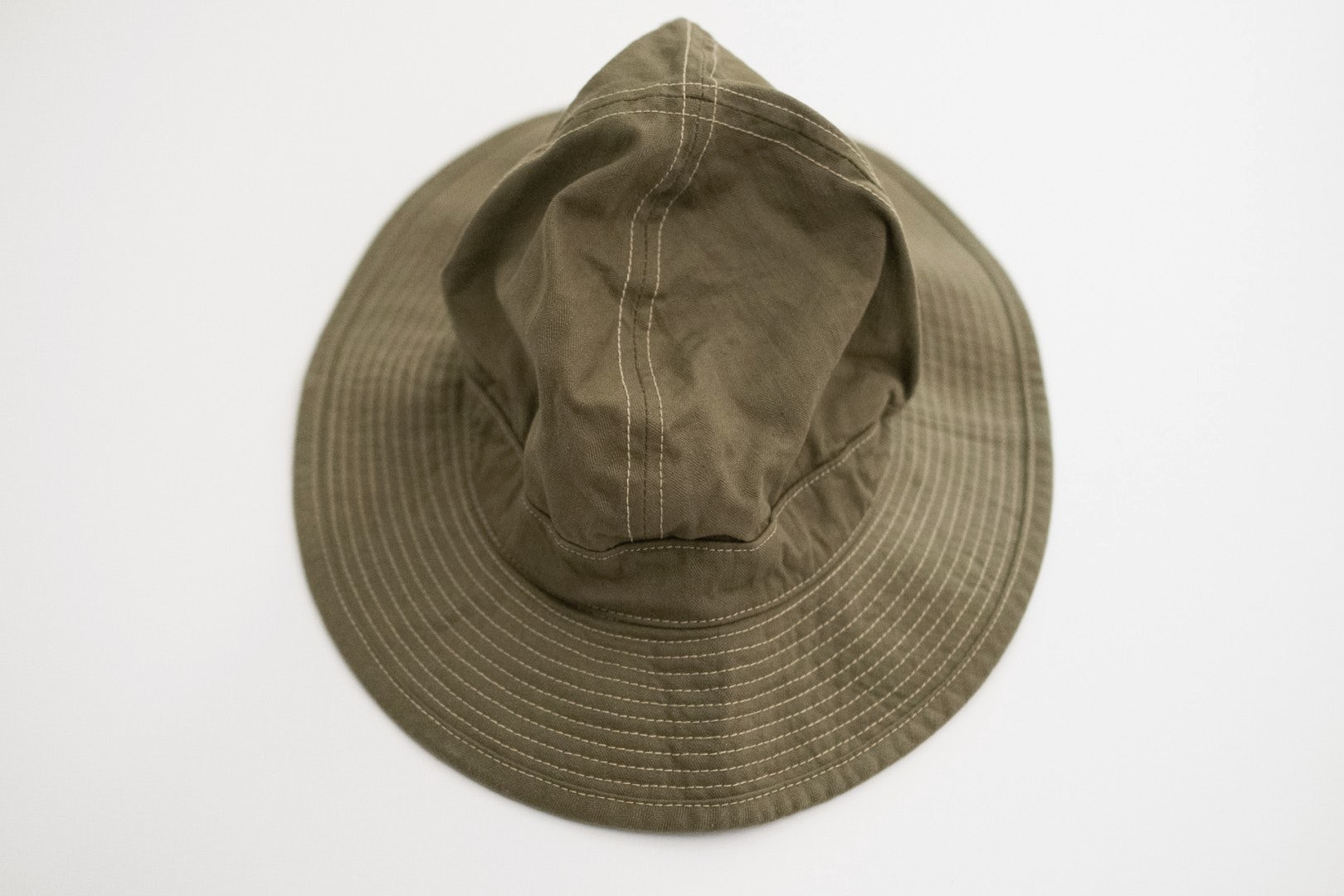 Orslow ORSLOW SS19 US NAVY HAT 16A Green