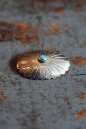Independence Vintage Goods Shell Pin Shell & Turquoise