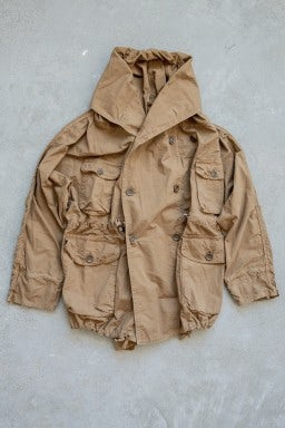 Kapital Rip Stop ARMY RING Coat Gold