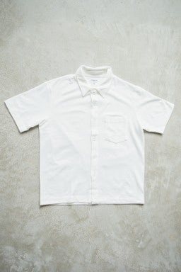 Lady White Co. SS Pique Pocket Polo White