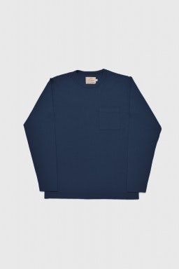 Dehen 1920 Heavy Duty Long Sleeve Tee NAVY