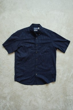 Blue Blue Japan SS Button Down Shirt Indigo