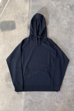 Arpenteur Hooded Sweatshirt Dark Navy