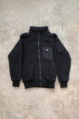 Battenwear Warm-Up Fleece Black