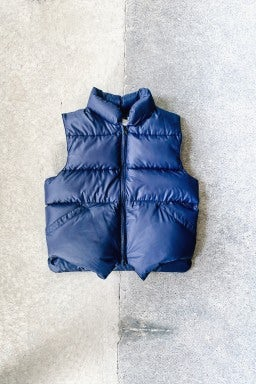Crescent Down Works Italian Vest Navy