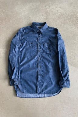 Engineered Garments Work Shirt Dark Blue/Light Denim