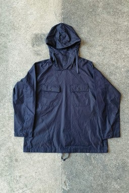 Engineered Garments Cagoule Shirt Dark Navy High Count Twill