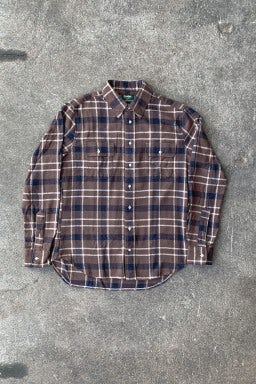 Gitman Bros. Vintage Two Pocket Flannel Plaid