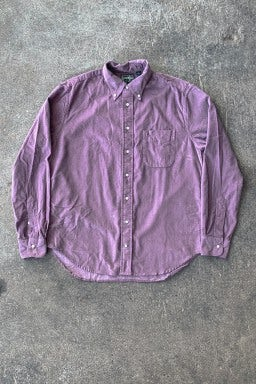 Gitman Bros. Vintage Button Down Shirt Violet Corduroy