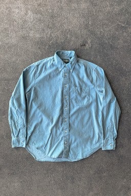 Gitman Bros. Vintage Button Down Shirt Sky Blue Corduroy