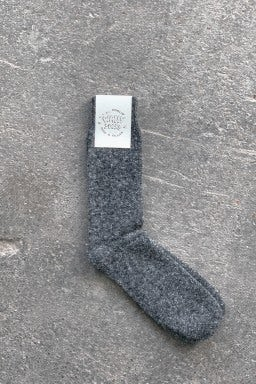 Howlin' Wally Socks Charcoal