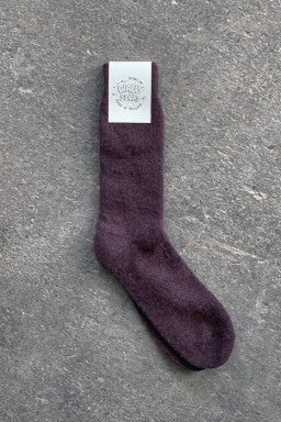 Howlin' Wally Socks Purple