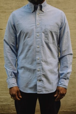Gitman Bros. Vintage Oxford Shirt Blue