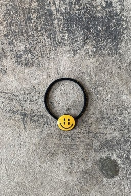 Kapital RAIN SMILE Concho Hairband Black
