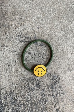 Kapital RAIN SMILE Concho Hairband Khaki