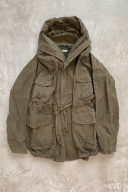Kapital Katsuragi Cotton Ring Coat  Khaki