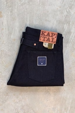Kapital Century Denim No.1.2.3 5P Monkey Cisco Indigo