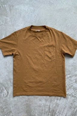 Lady White Co. Balta Pocket T-Shirt Tobacco