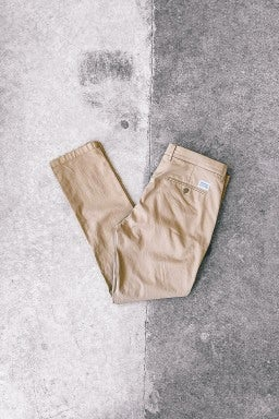 Norse Projects Aros Slim Light Stretch Utility Khaki