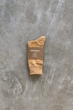 Norse Projects Bjarki Blend Socks Cadmium Orange