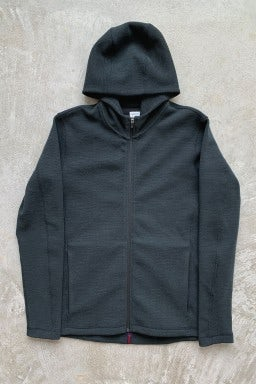 NWKC 201 Nylon Hooded Zip Forest