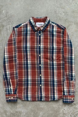 Corridor Long Sleeve Shirt Plaid Wool