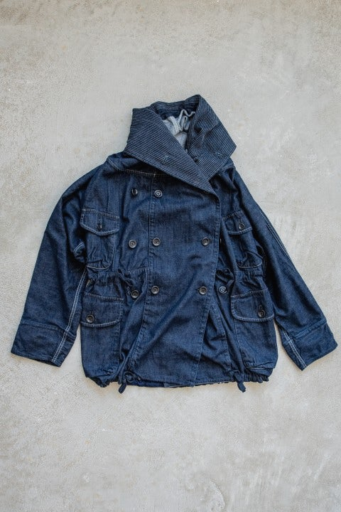 Kapital 10oz Denim RING Coat Indigo