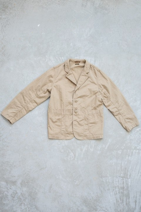Kapital Rip-Stop HOSPITAL Jacket Beige