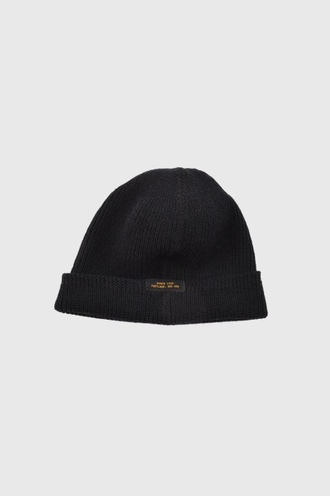 Dehen 1920 Wool Knit Watch Cap Black