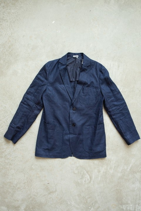 Blue Blue Japan 2 Button Jacket Indigo