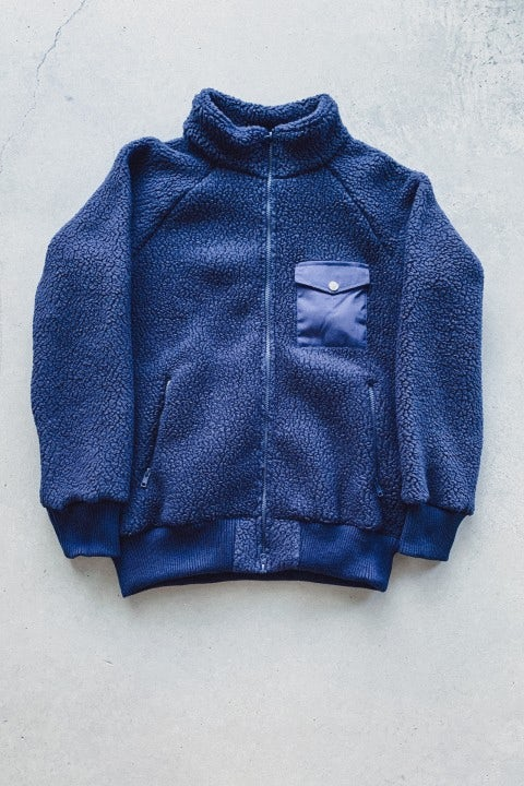 Battenwear Warm Up Fleece Navy