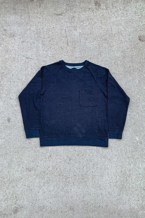 Blue Blue Japan Raglan Sweatshirt 50 Indigo