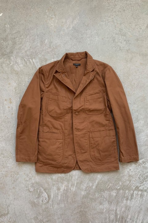 Engineered Garments Bedford Jacket Brown 120z Duck Canvas