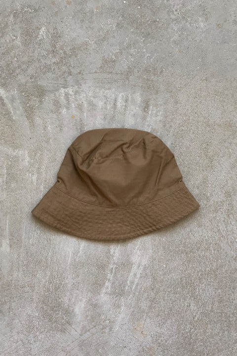 Engineered Garments Bucket Hat  Brown Cotton Herringbone Twill