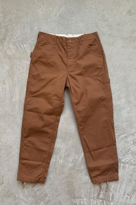 Engineered Garments Painter Pant Brown 12oz Duck Canvas