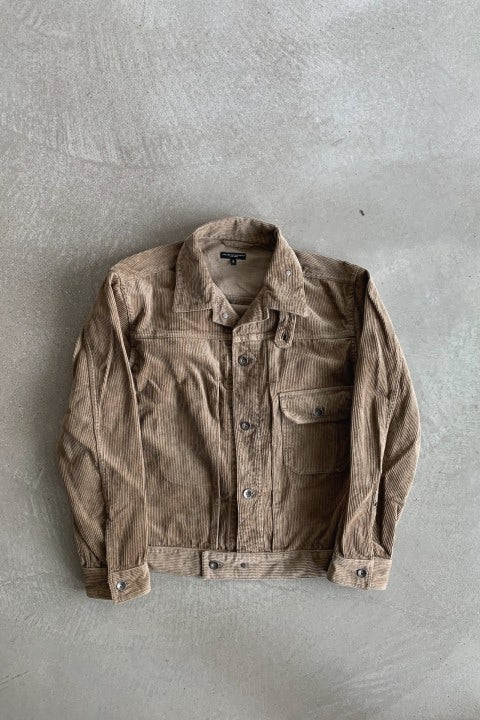 Engineered Garments Trucker Jacket Khaki 8W