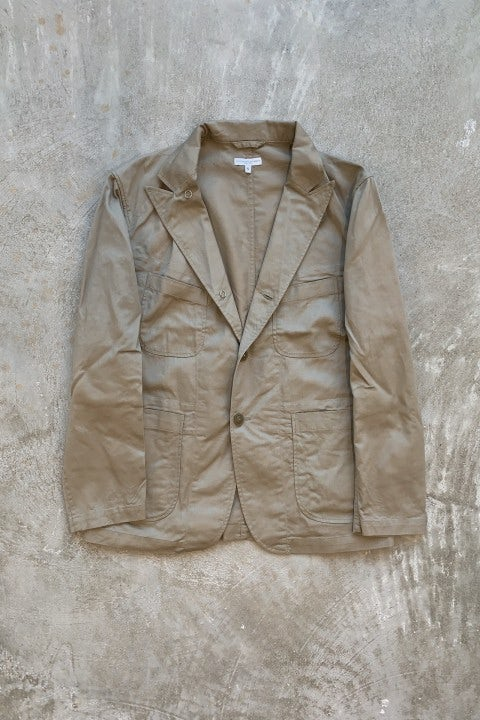 Engineered Garments Bedford Jacket Khaki 6.5oz Flat Twill
