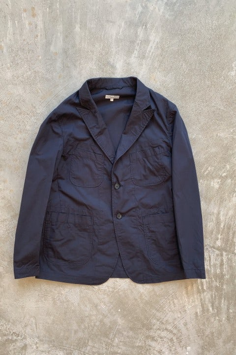 Engineered Garments New Bedford Dark Navy Highcount Twill