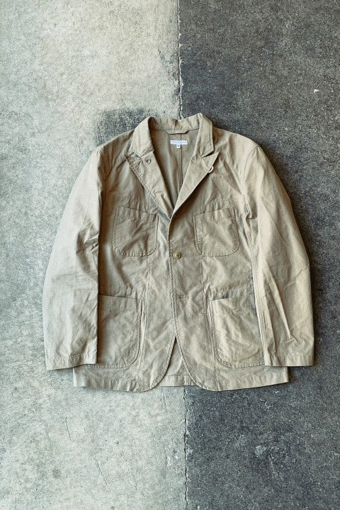 Engineered Garments Bedford Jacket Khaki Cotton Ripstop