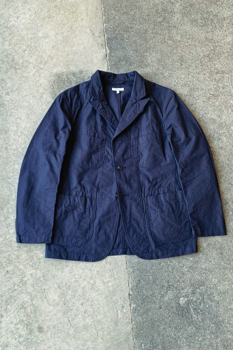 Engineered Garments Bedford Jacket Dark Navy Cotton Ripstop