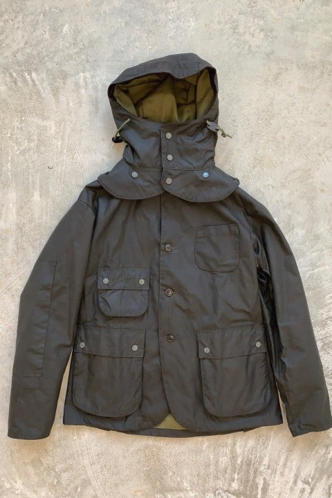 Engineered Garments Upland Waxed Jacket Olive Wax