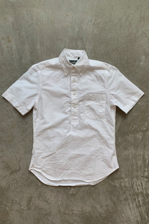 Gitman Bros. Vintage Pop Over White Oxford